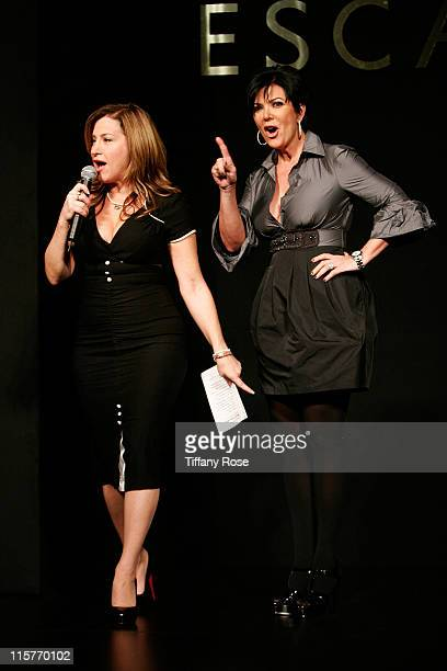 Comedian Lisa Ann Walter and Kris Jenner host Lupus LA's 6th Annual Bag Lady Luncheon at The Regent Beverly Wilshire Ballroom on November 7 2008 in...