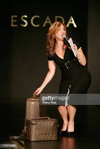 Comedian Lisa Ann Walter speaks at the Lupus LA's 6th Annual Bag Lady Luncheon at The Regent Beverly Wilshire Ballroom on November 7 2008 in Los...