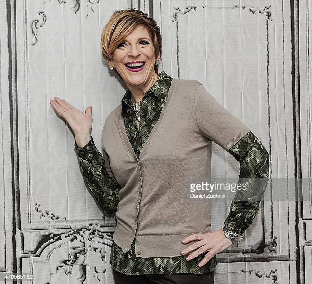 Comedian Lisa Lampanelli attends the AOL Build Speakers Series: Jim Norton at AOL Studios In New York on April 21, 2015 in New York City.