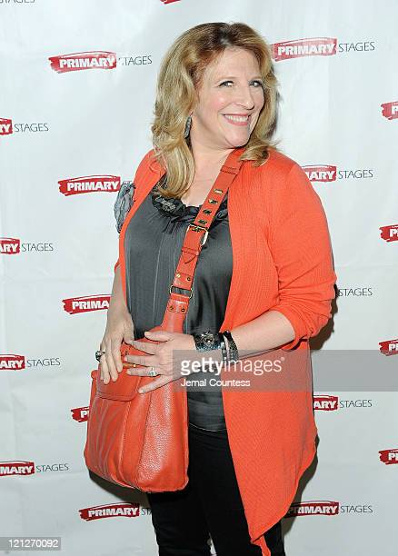 "Comedian Lisa Lampinelli attends the after party for the opening night of ""Olive and the Bitter Herbs"" at 48 Lounge on August 16, 2011 in New York..."