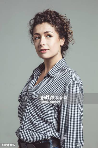 Comedian Lola Zidi is photographed for Self Assignment on May 12 2017 in Paris France