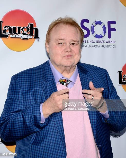 Comedian Louie Anderson attends the SarcomaOma Foundation Comedy Benefit at The Laugh Factory on June 6 2018 in West Hollywood California