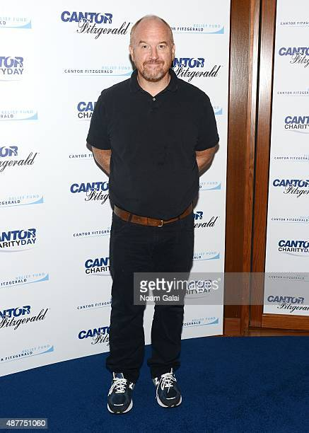 Comedian Louis CK attends the annual Charity Day hosted by Cantor Fitzgerald and BGC at Cantor Fitzgerald on September 11 2015 in New York City