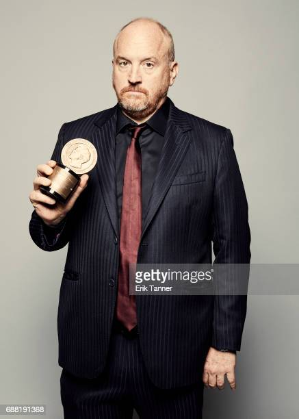 Comedian Louis CK is photographed at the 76th Annual Peabody Awards at Cipriani Wall Street on May 20 2017 in New York City