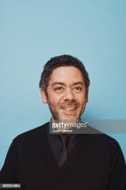 Comedian Manu Payet is photographed for Self Assignment on February 2 2017 in Paris France