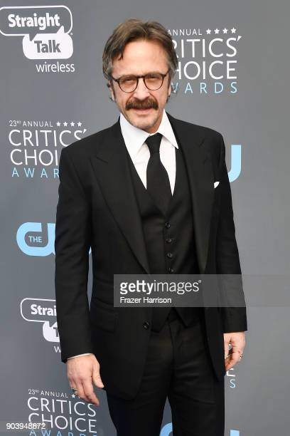 Comedian Marc Maron attends The 23rd Annual Critics' Choice Awards at Barker Hangar on January 11 2018 in Santa Monica California
