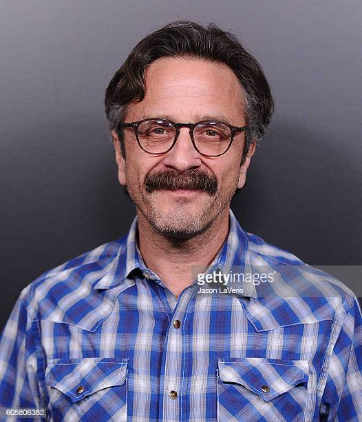 Comedian Marc Maron attends the premiere of 'Easy' at The London Hotel on September 14 2016 in West Hollywood California