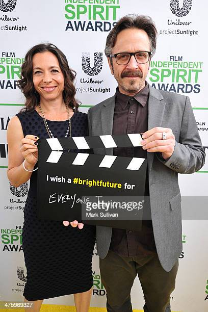 Comedian Marc Maron calls ACTION to create a brighter future on the Yellow Carpet presented by Unilever Project Sunlight during the 2014 Film...