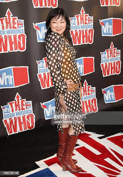 Comedian Margaret Cho arrives at the 2008 VH1 Rock Honors honoring The Who at UCLA's Pauley Pavilion on July 12, 2008 in Los Angeles, California.