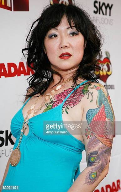 Comedian Margaret Cho attends a screening of Margaret Cho's 'The Cho Show' at Le Royale on August 13 2008 in New York City