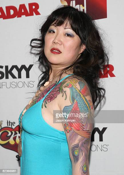 Comedian Margaret Cho attends the premiere of VH1's 'The Cho Show' at Le Royale August 13 2008 in New York City