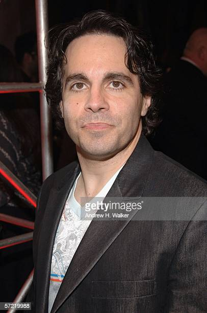 Comedian Mario Cantone attends the launch of Ben Sherman's first official US Flagship Store on March 30 2006 in New York City