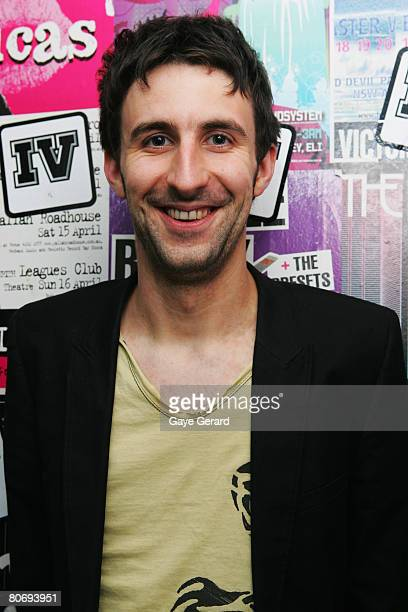Comedian Mark Watson attends the opening night of the Cracker Comedy Festival at the Metro Theatre on April 16 2008 in Sydney Australia