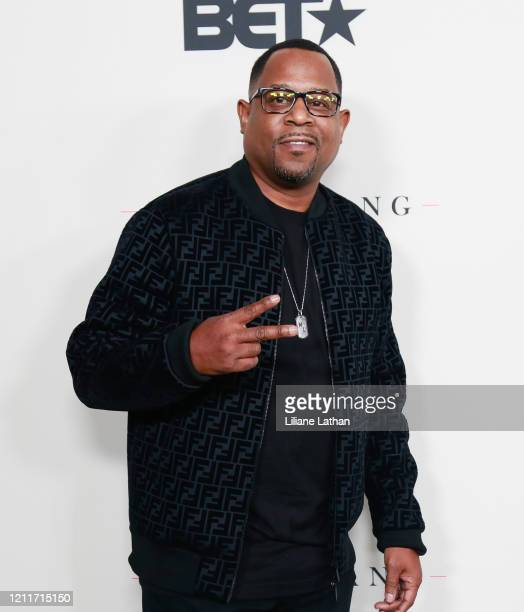 Comedian Martin Lawrence attends the Boomerang Season 2 Premiere on March 10 2020 in Los Angeles California