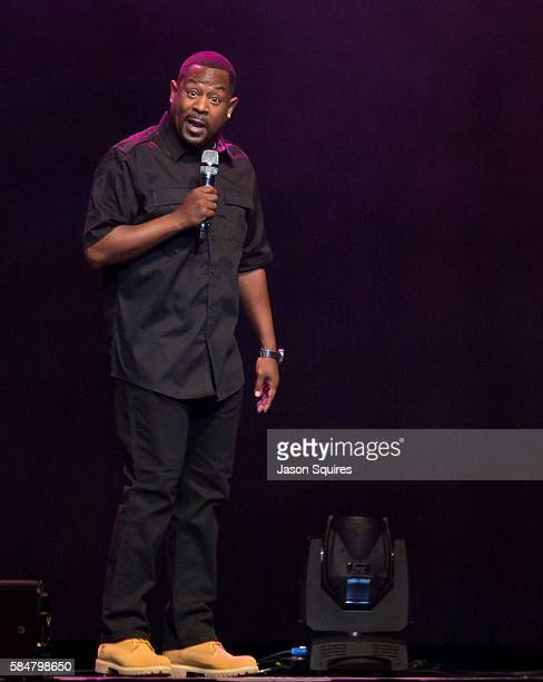 Comedian Martin Lawrence performs at Sprint Center on July 30 2016 in Kansas City Missouri