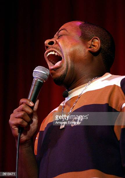 Comedian Martin Lawrence performs live at The Comedy Store on October 17 2003 in West Hollywood California