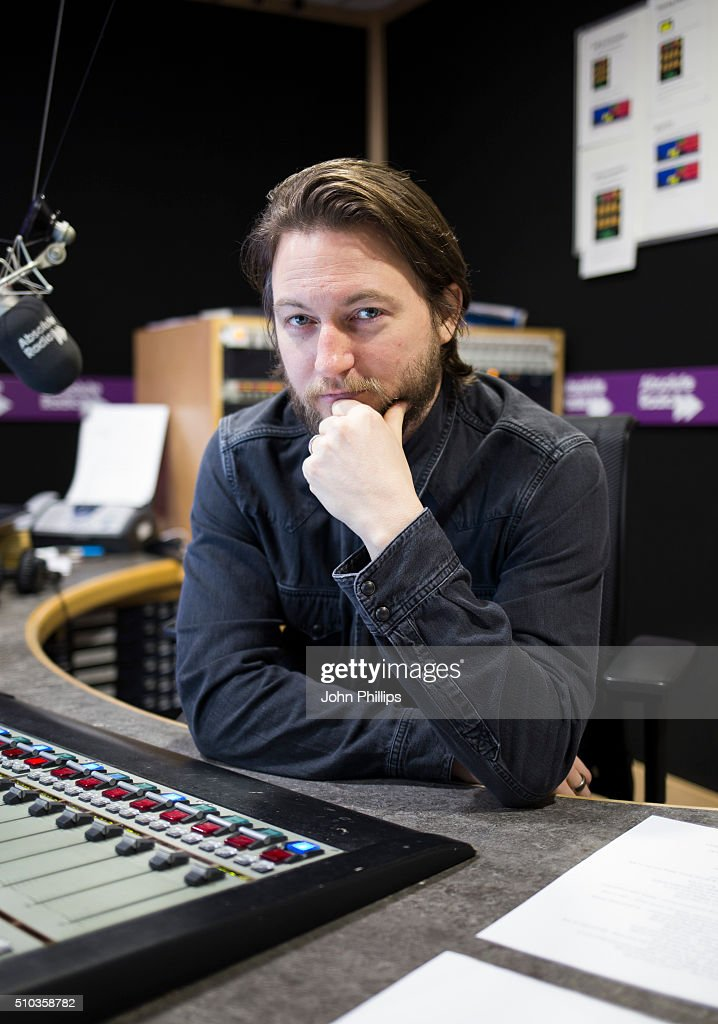 Comedian, Matt Morgan hosting a special show for Absolute Radio with co-host, Noel Gallagher on February 11, 2016 in London, England.