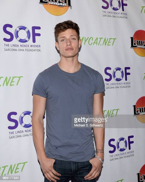 Comedian Matt Rife attends the SarcomaOma Foundation Comedy Benefit at The Laugh Factory on June 6 2018 in West Hollywood California