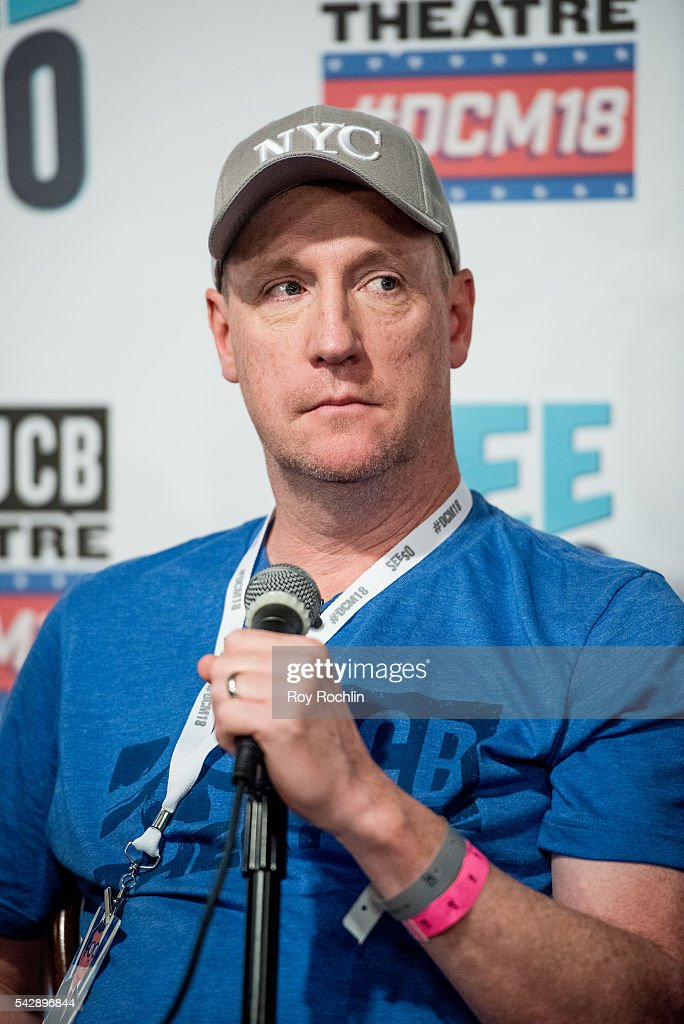 Comedian Matt Walsh attends the 18th Annual Del Close Improv Comedy Marathon Press Conference at Upright Citizens Brigade Theatre on June 24, 2016 in New York City.