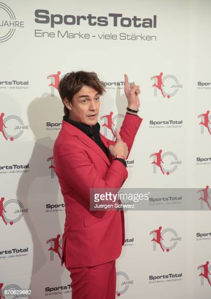 Comedian Matze Knop poses at the 10th anniversary celebration of the Sports Total Agency on November 5 2017 in Cologne Germany