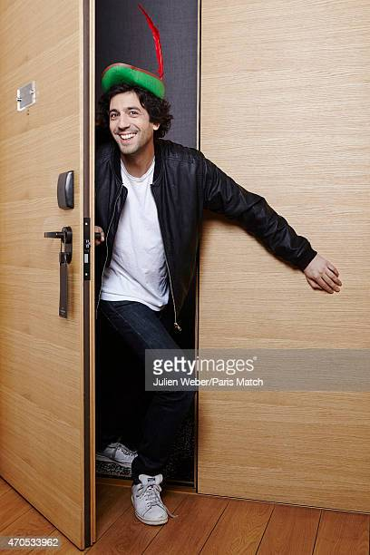 Comedian Max Boublil is photographed for Paris Match on April 1 2015 in Paris France