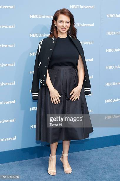 Comedian Maya Rudolph of 'Maya Marty' on NBC attends the NBCUniversal 2016 Upfront on May 16 2016 in New York New York