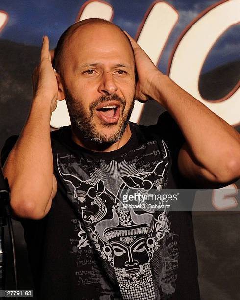 Comedian Maz Jobrani performs during his appearance at The Ice House Comedy Club on June 3 2011 in Pasadena California