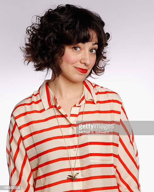 Comedian Melissa Villasenor poses after her performance at The Ice House Comedy Club on January 12 2012 in Pasadena California