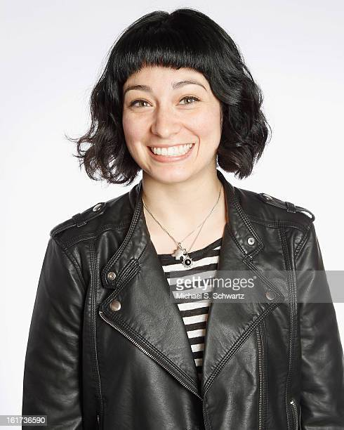 Comedian Melissa Villasenor poses after her performance at The Ice House Comedy Club on February 14 2013 in Pasadena California