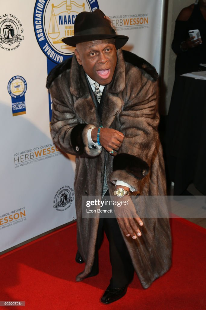 Comedian Michael Colyar attends the 27th Annual NAACP Theatre Awards at Millennium Biltmore Hotel on February 26, 2018 in Los Angeles, California.