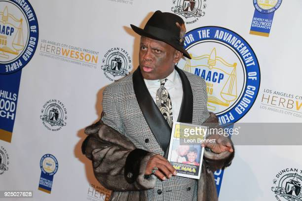Comedian Michael Colyar attends the 27th Annual NAACP Theatre Awards at Millennium Biltmore Hotel on February 26 2018 in Los Angeles California
