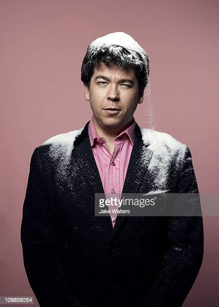 Comedian Michael Macintyre poses for a portrait shoot in London on November 30, 2009.