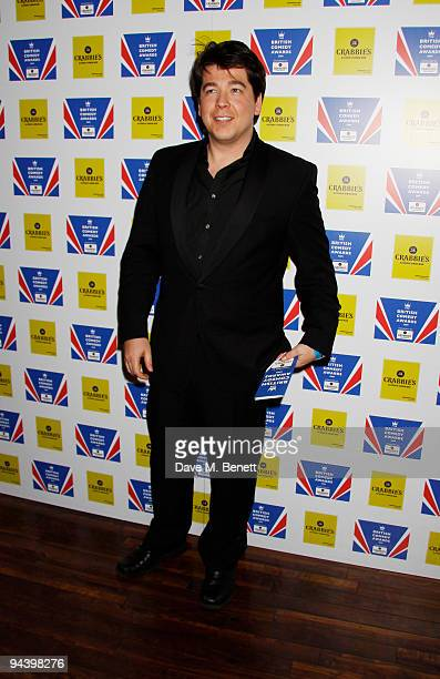 Comedian Michael McIntyre attends the British Comedy Awards on December 12, 2009 in London, England.