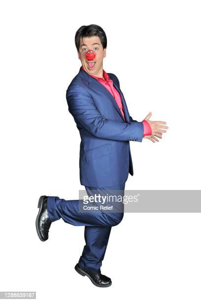 Comedian, Michael McIntyre takes part in Red Nose Day 2013, in the studio on 15 March, 2013 in London.