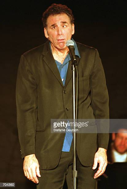 Comedian Michael Richards performs during the 'Late Night Lounge' a special show with the US Comedy Arts Festival March 1 2002 in Aspen CO