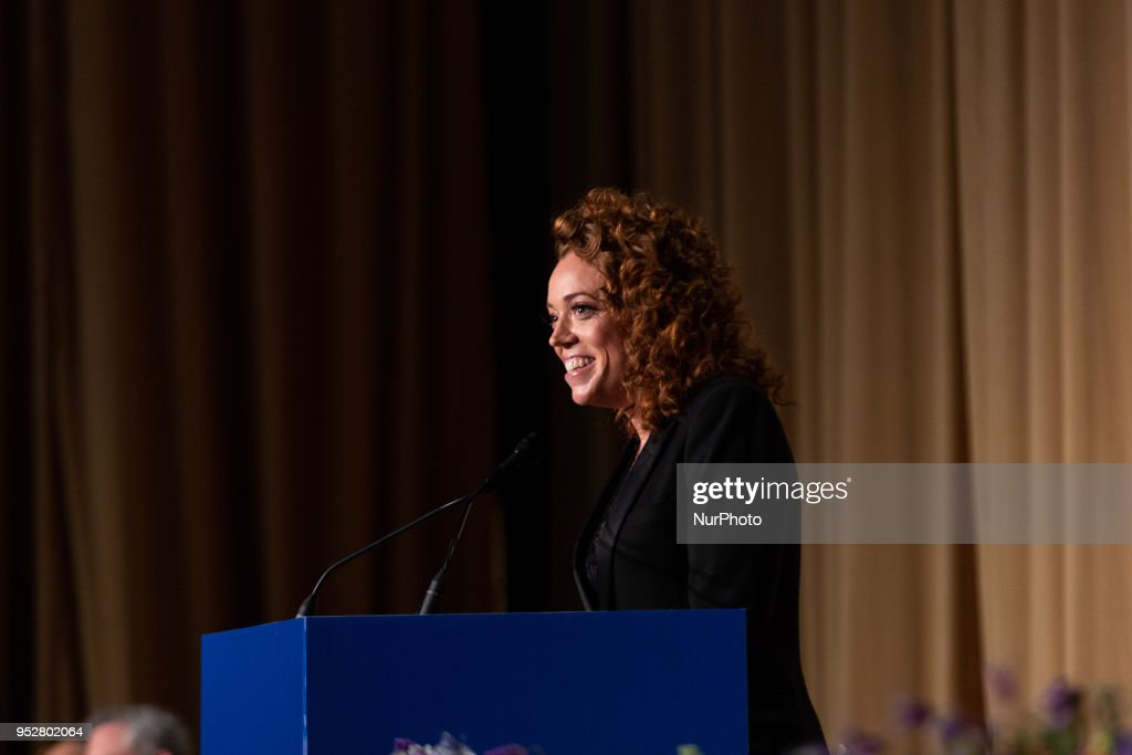2018 White House Correspondents' Association (WHCA) Dinner : News Photo