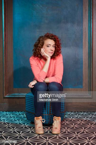 Comedian Michelle Wolf is photographed for The Hollywood Reporter on March 31 2018 in New York City PUBLISHED IMAGE