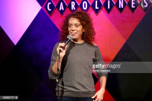 Comedian Michelle Wolf performs onstage during Ms Foundation For Women's 23rd Comedy Night at Carolines On Broadway on October 30 2018 in New York...