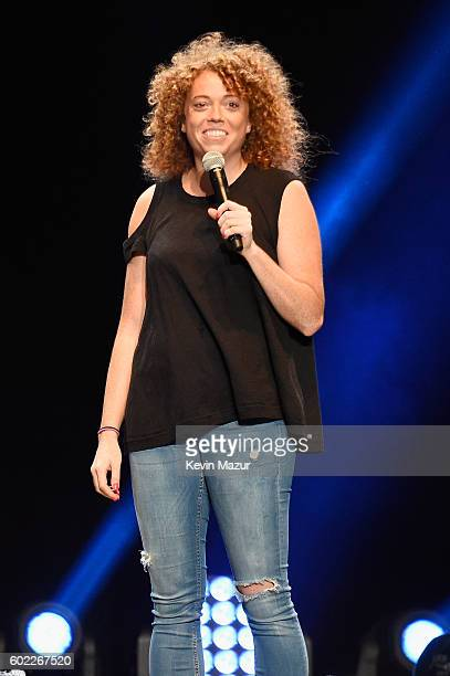 Comedian Michelle Wolf performs onstage during Oddball Comedy Festival at Nikon at Jones Beach Theater on September 10 2016 in Wantagh New York
