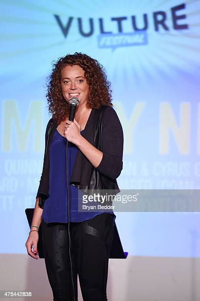 Comedian Michelle Wolf performs onstage during Vulture Festival Presents Comedy Night at The Bell House on May 31 2015 in Brooklyn New York