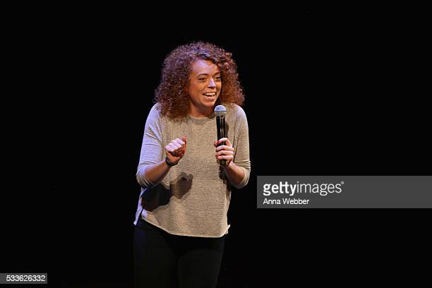 Comedian Michelle Wolf performs onstage during Vulture Festival presents Sarah Silverman Friends at BAM on May 22 2016 in New York City