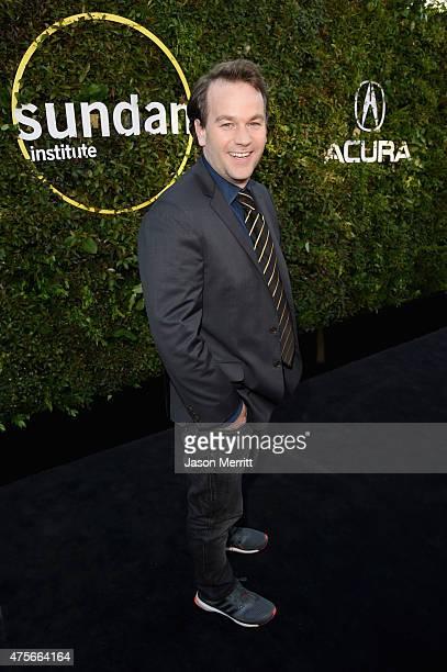 Comedian Mike Birbiglia attends the 2015 Sundance Institute Celebration Benefit at 3LABS on June 2 2015 in Culver City California