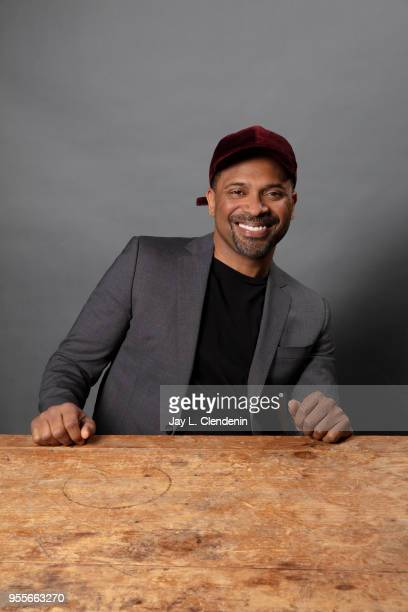 Comedian Mike Epps is photographed for Los Angeles Times on April 21 2018 in the LA Times Studio at the Los Angeles Times Festival of Books at the...