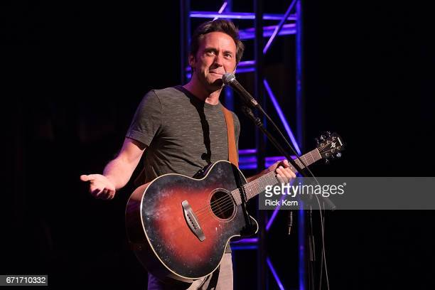 Comedian Mike Furman performs onstage during the Moontower Comedy Festival at The Paramount Theatre on April 21 2017 in Austin Texas