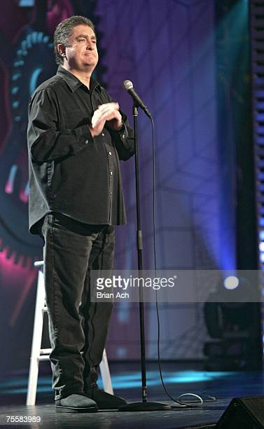 Comedian Mike MacDonald performs at the Theatre St Denis during the Just For Laughs Festival on July 20 in Montreal
