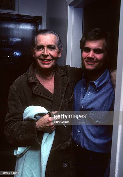"""Comedian Milton Berle and son attending the taping of """"The Women Love...Bob Hope Special"""" on February 21, 1982 at NBC Television City in Los Angeles,..."""