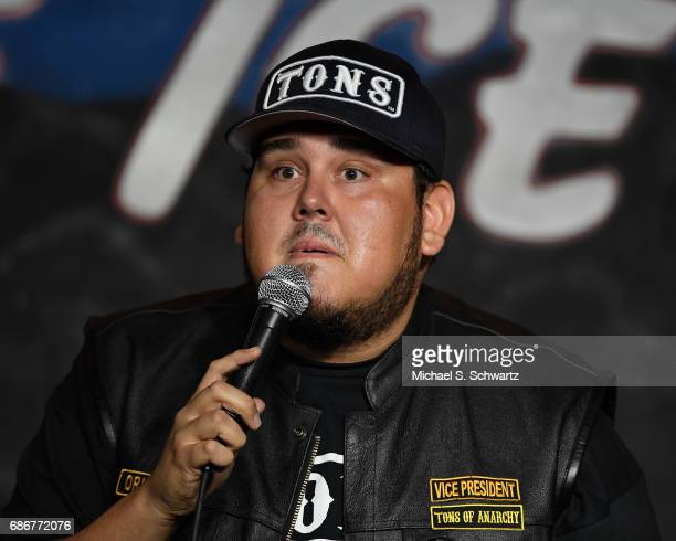 Comedian Momo Rodriguez performs during his appearance at the Tons of Anarchy Comedy Show at The Ice House Comedy Club on May 21 2017 in Pasadena...