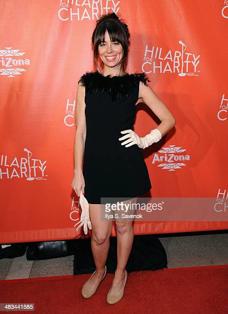 Comedian Natasha Leggero attends Hilarity for Charity NYC Cocktail Party at The Jane Hotel on April 8, 2014 in New York City.