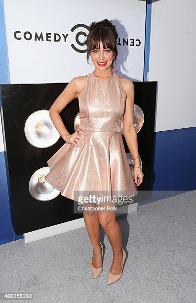 Comedian Natasha Leggero attends The Comedy Central Roast of Justin Bieber at Sony Pictures Studios on March 14 2015 in Los Angeles California