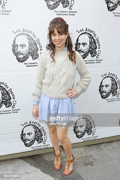 Comedian Natasha Leggero attends the Los Angeles Drama Club's 2nd Annual Tempest In A Teacup Gala Fundraiser and Benefit performance at The Magic...